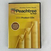 Peachtree By Sage Pro Accounting Software 2009 Products Cd With Serial Number