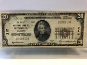 Collectable Currency From The Bank Of Kenosha. Year 1929