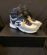 High Top Trainer Sneakers Gym Shoes Size 43 Rare Cc