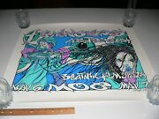 Flaming Lips Archers Of Loaf Concert Limited Poster 5/100 By Pablo Rare Htf