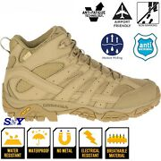 Merrell 5 Menand039s Tactical Waterproof Soft Toe Moisture Wicking Breathable Boots
