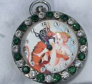Very Rare Authentic Corum And039hours Of Love Erotic Bubble Crystal Clockw/video