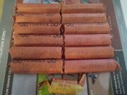 Lincoln Cent Penny Rolls 12+ 1910s Teens 1909-1919 628 Coins Total