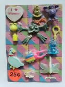 Vintage Charms And Toys Old Gumball Vending Machine Display Card 191