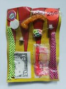 Vintage Colorful Toys Old Gumball Vending Machine Display Card 187
