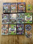 Lot Of 13 Sims 3 Expansion Packs Cds For Pc And Cases +sim2 Pc