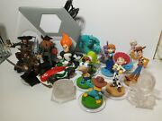 16 Disney Infinity 1.0 Pirates Monsters Inc Elsa Phineas Syndrome Toy Story Ps3