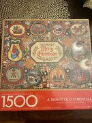 Springbok A Merry Old Christmas Jigsaw Puzzle 1,500 New Sealed