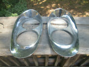 1958 Lincoln Head Light Bezel Lh And/or Rh Side