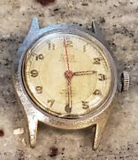 Titus Geneve 17 Jewel Incabloc Watch Runs But For Restoration Or Parts Only