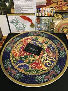 Versace Christmas Wall Plate Rosenthal New In Box Limited 2014 Rare Sale