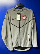 Nike 2012 Olympic Team Usa Medal Stand Podium Reflective Flash 3m Jacket Men's S