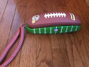 Vtg Dallas Cowboys Nfl Football Push Button Phone Trimstyle Working And Tested