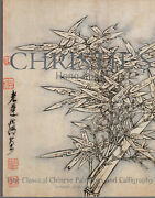 Classical Chinese Paintings And Calligraphy Christie's 2002 Scrrens Prints Scrolls