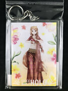 Spice And Wolf Holo Indian Folk Costume Ver. Big Acrylic Key Holder Ring New