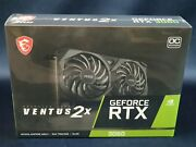 Msi Geforce Rtx 3060 Ventus 2x Gaming Graphics Card ⚡ships Fast⚡