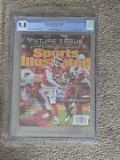 2018 Patrick Mahomes Sports Illustrated Pop 10 Cgc 9.8 Rookie 1st Issue