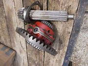 Farmall 656 Ih Tractor Orignal Ring And Pinion Transmission Drive Gear Matched Set