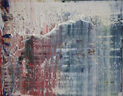 Harry James Moody - Abstract Grey Zone Nanddeg431 2019 - Huile Sur Toile