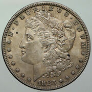 1883 P United States Of America Eagle Old Silver Morgan Us Dollar Coin I92932