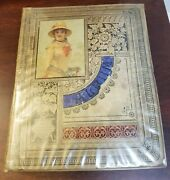 Superior 1882 Victorian Trade Card Album, 94 12x15 Pages W/over 750 Cards