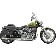 Bassani Manufacturing 1s31rb Road Rage 21 Exhaust System - Black - Long