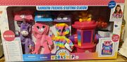 Build-a-bear Workshop Rainbow Friends 21 Piece Stuffing Station With 3 Bears New