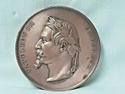 Chunky Medal Consecration Of L'church St B.of The Chapel Napoleon Iii -1861