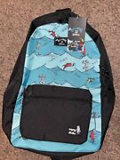 Billabong X One Fish Two Fish Backpack Back To School Bag 22l