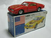 Used 1978 Tomika F42 1 Gift 51 American Highway A Set Tomica With Box Very Rare