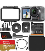 Dji Osmo Action 4k Camera With 128gb Bundle With Sandisk Extreme 128gb Sdxc Card