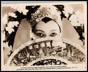 Pioneering Chinese-american Star Anna May Wong Java Head 1934 Iconic Photo 487