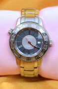 And Co Men's Stainless Still Automatic Watch W/date