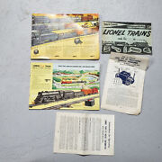 Vintage Lionel Model Train Misc Advertising And Catalogs