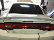 2011-2014 Dodge Charger Trunk/hatch/tailgate Rt W/spoiler White 2747264