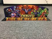The Avengers Pinball Machine Topper Official Pin Stern Pro Premium Le
