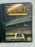 Mint 1st Issue Sports Illustrated August 16, 1954 W/folder Topps Baseball Cards