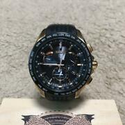 Seiko Astron Day Date Used World Time Gps Solar Mens Watch Authentic Working