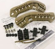 Ops-core Ach-arc Tan Accessory Rail Connector Kit W/ Bungees Authentic Nos