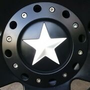 5 White Skins For Center Star On Kmc Xd Rockstar 775and039s-811and039s-827and039s Truck Wheels