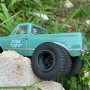 Rims / Wheels For Scx24 Axial -dually- Resin 3d Print - Mods - Glueon Paul Style
