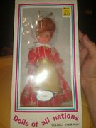 Dolls Of All Nations Figurine 10 Adorable Italy Doll Made In Hong Kong In Box