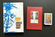 50 Year Anniversary Aleister Crowley Thoth Tarot Deck 3 Magi 1986 Cards Set