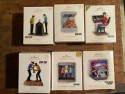 Hallmark Lot Of 38 Star Trek Ornaments Inc Rare Items See Description And Pictures