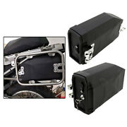 Motorcycle Toolbox 5 Liters With 2 Keys For Bmw Benelli Trk502 2016-2019