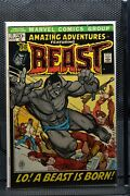 Amazing Adventures 11 Marvel Comics 1972 1st Appearance Of The Furry Beast 6.5