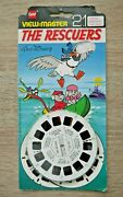 The Rescuers 1977 Viewmaster Reels Set Bh026 Rare Complete Walt Disney  K776