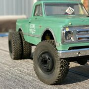 Rims / Wheels For Scx24 Axial -dually- Resin 3d Print- Mods-glueon Classic Style