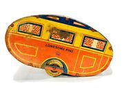 1940and039s Marx Lonesome Pine Travel Trailer Camper Vintage Tin Toy Pull Behind