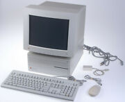 Apple Macintosh Iici And Applecolor Rgb Monitor M1297 Tested With Accessories